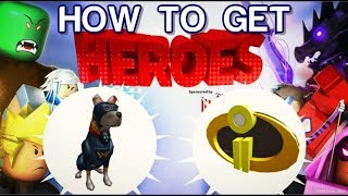 Roblox - How to Get Incredibles 2 Badge & Super Pup