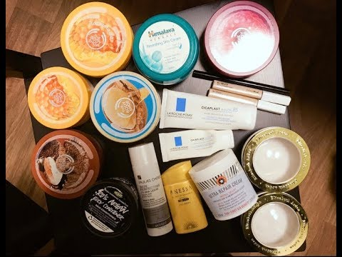 空瓶review!一大堆身體黃油,幾件面部護膚及化妝品附刷酸經歷淺談 粵語音頻