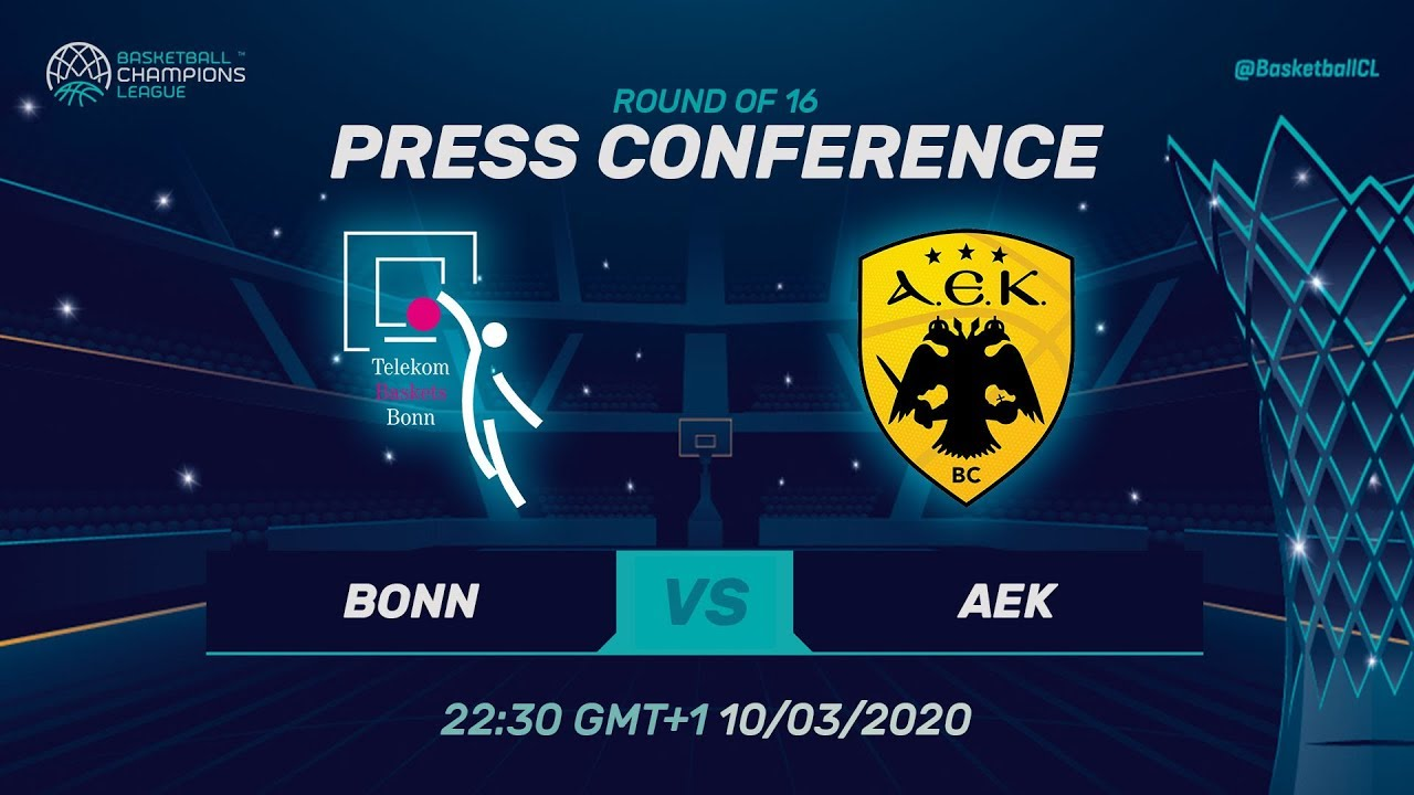 Telekom Baskets Bonn v AEK - PC - Round of 16 - Basketball Champions League 2019