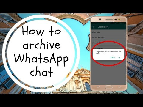 How to unarchive a chat on whatsapp iphone 6