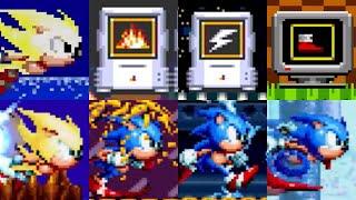 Sonic Mania: All Powerups Origins