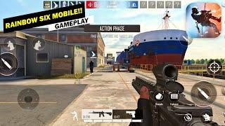 Area F2 (Rainbow Six Mobile) Open Beta Android & iOS Gameplay!