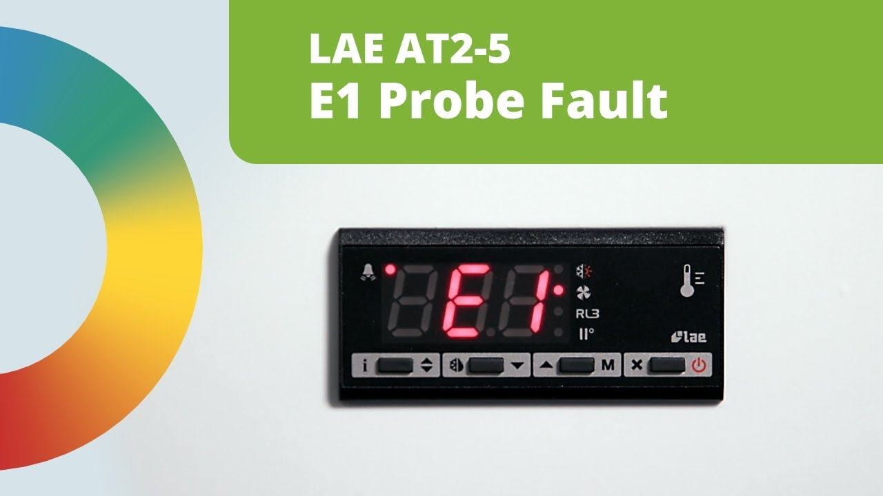 Fixing An E1 Probe Fault: LAE AT2 5 Digital Controller
