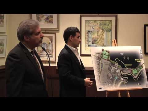 Monday at the Rye Free Library, Standard Amusements, LLC. presented their plan for Playland Amusement Park.