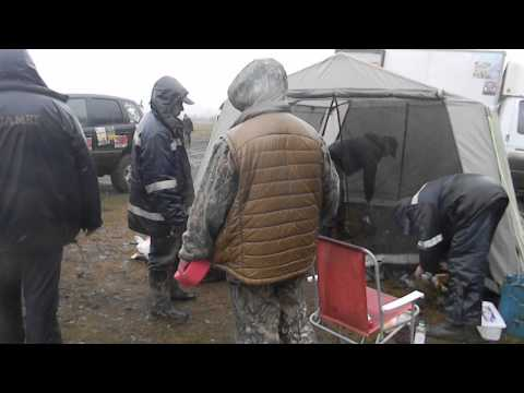 Разрушение палатки