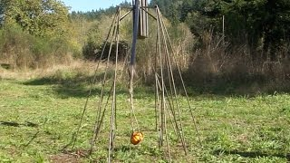 Mini Pumpkin Chunkin With My Trebuchet