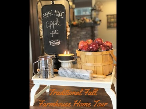 Traditional Fall Farmhouse 2018 Home Tour