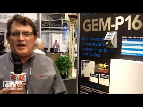 CEDIA 2015: Napco Security Systems Showcases GEM-P1664 Control Panel