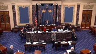 Senate leaders interrupt Grassley, announce Trump's support for deal and national emergency