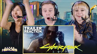 Cyberpunk 2077 - Official Trailer E3 2019 (Keanu Reeves)
