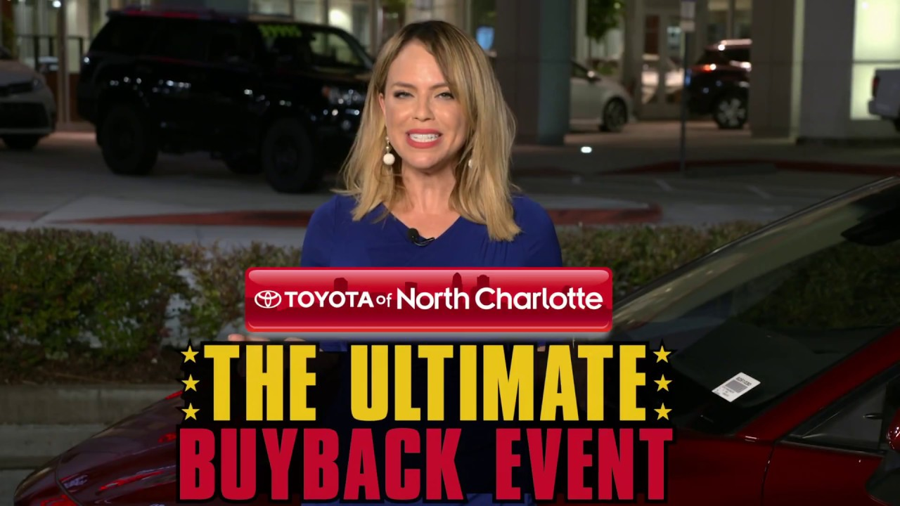 Toyota Of Charlotte >> Get Our Ultimate Deals On Our New Toyota Camrys And Corollas Youtube