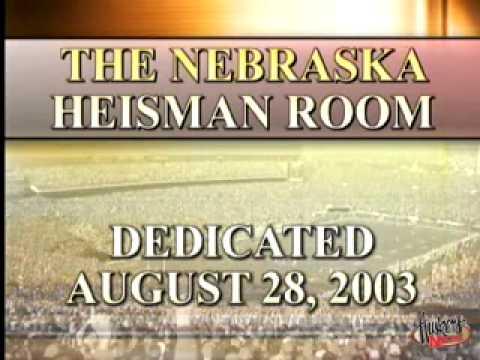 Nebraska's Heisman Room