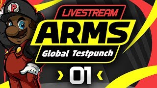 ARMS Gameplay - Global Testpunch Livestream! [#01] [Helix Gameplay] thumbnail