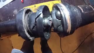 Cayenne / VW Touareg DIY Drive  Shaft Support Bearing Repair original parts