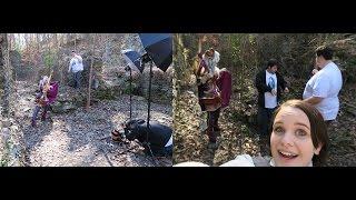 Atlanta Trip and Vlog and behind the scenes with Yaya han