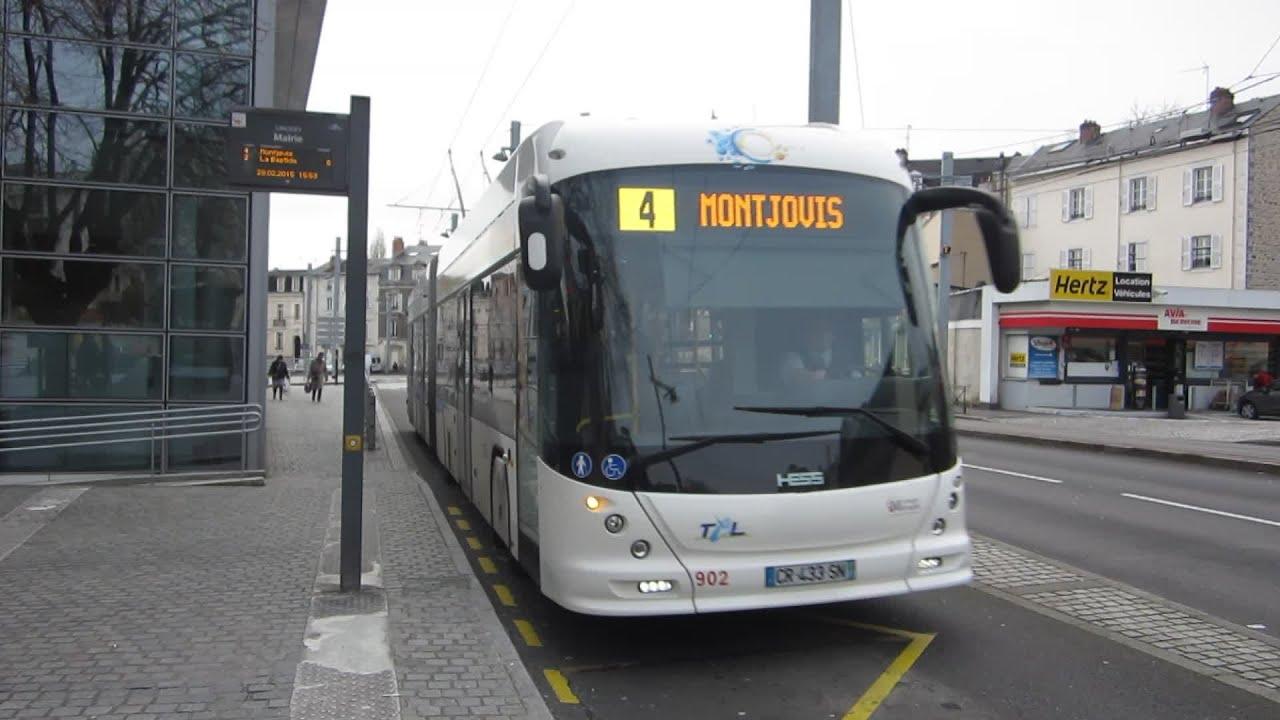 Limoges hess swisstrolley4 mairie ligne 4 - Ligne bus limoges ...
