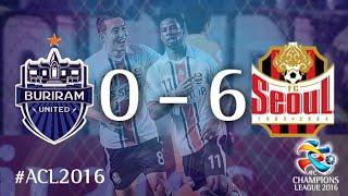 BURIRAM UNITED vs FC SEOUL: AFC Champions League 2016 (Group Stage)