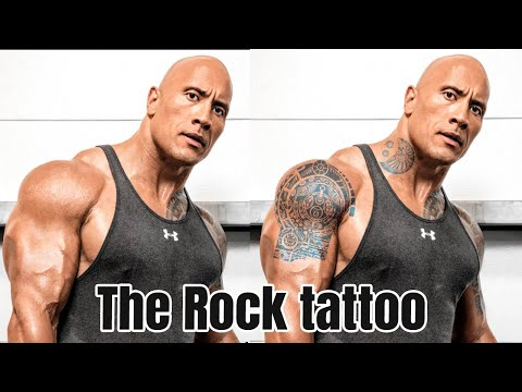 How To Make The Rock Tattoo With Photoshop