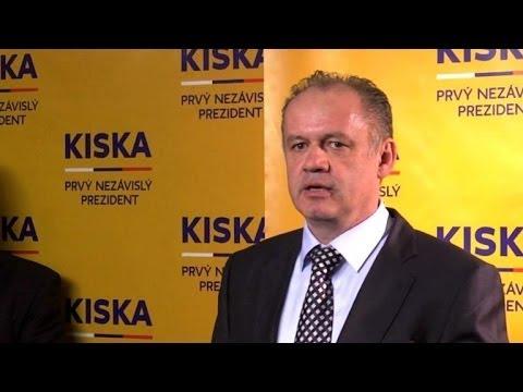 Millionaire Kiska wins Slovak presidential race