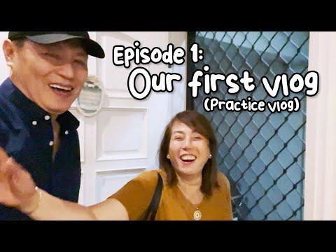 BoPin's First Vlog   Bonoy & Pinty Gonzaga