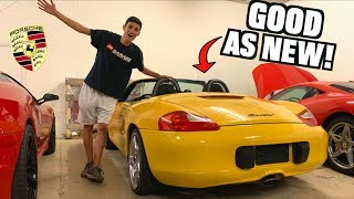 $500 SALVAGE Porsche Fixed Dirt CHEAP! (Budget Boxster Complete)