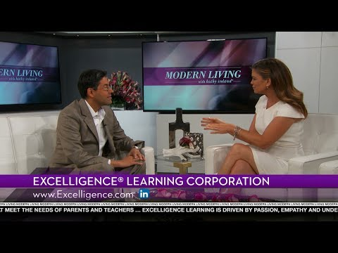 Excelligence® Learning Corporation featured on Modern Living with kathy ireland®