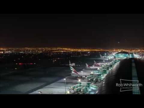Dubai Airport Traffic 2016