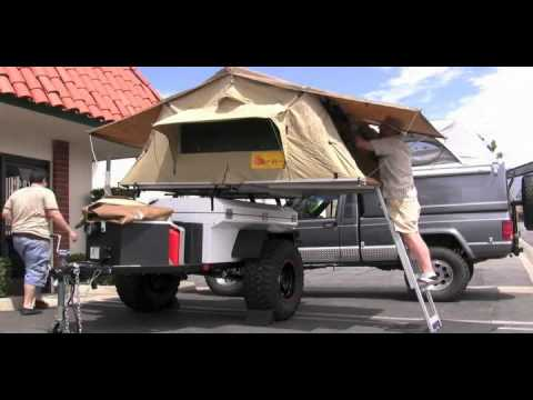 & Eezi Awn Roof Top Tent - YouTube