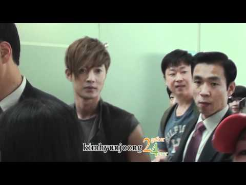 download 120608 KimHyunJoong fancam-Departure to Shanghai@Incheon Int'l airport