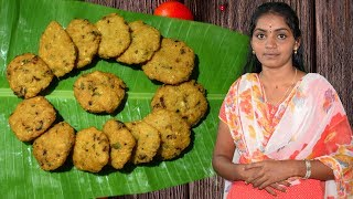 Thatta Payaru or Paruppu Vadai in Tamil | தட்டைப்பயிறு வடை | Kala Kitchen | EP #8