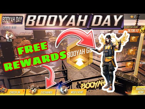 இலவசம் Rewards🔥💯 Booyah Day Event || Freefire Booyah Day Event Full Details Tamil || LGT தமிழன்