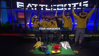 BattleBots Basement Tapes: THE FOUR HORSEMEN vs. P1 vs. EXTINGUISHER