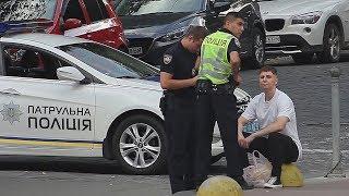 """""""Отвезу в райотдел и кончу"""" - патрульный полицейский Украины"""