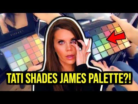 TATI SHADES JAMES CHARLES PALETTE + SHANE DAWSON X JEFFREE STAR PRODUCTS EXPOSED! thumbnail