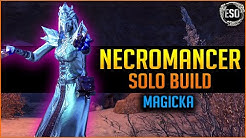 💀Magicka Necromancer Solo Build PvE💀 - Greymoor Chapter Elder Scrolls Online ESO