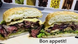 Альфа-бургер. Прайм-бургер. Идеальный гамбургер за 999 рублей!!!