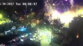 CAUGHT ON VIDEO: Deadly Terrorist Bombing In Baghdad Capture On Video Camera