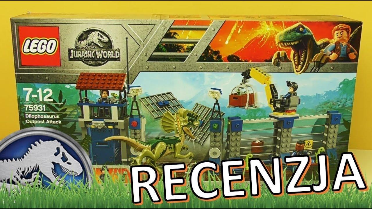 Lego Jurassic World Atak Dilofozaura Na Posterunek 75931 Recenzja