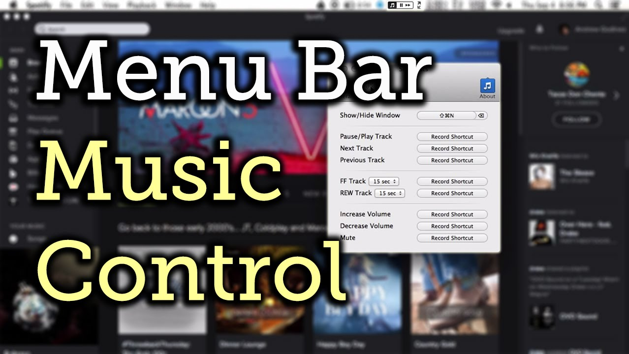 Add Menu Bar Controls for Spotify, Rdio, & iTunes on Your Mac [How-To]
