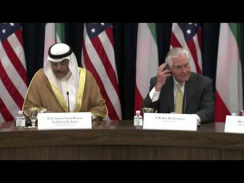 Secretary Tillerson Delivers Remarks at the U.S.-Kuwait Strategic Dialogue