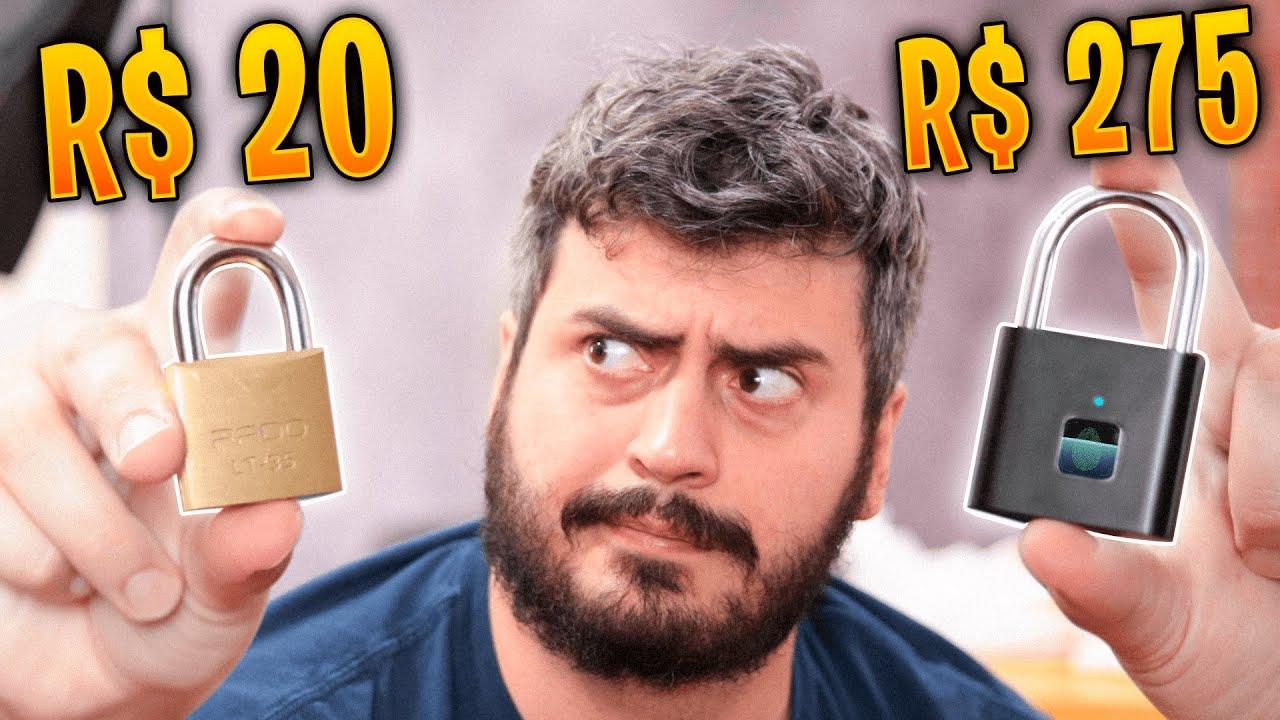 CADEADO DE RICO VS CADEADO DE POBRE! OLHA A DIFERENÇA!!
