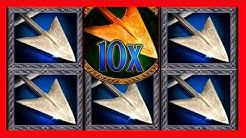 BIG WINS! I Love This Slot Machine! Robinhood & The Golden Arrow Slot Machine Bonuses