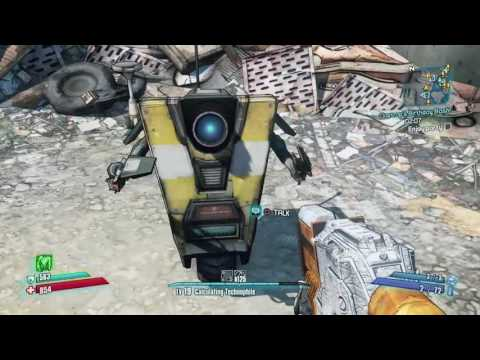 Borderlands: The Handsome Collection!-Claptrap's Birthday!-Side Mission |