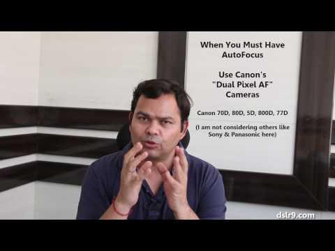 Canon Dual Pixel AF vs Nikon Auto Focus - Comparison (Hindi)
