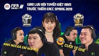 Talkshow giao lưu đội tuyển Việt Nam trước thềm EACC Spring 2019 - FIFA Online 4 (Phần 2)