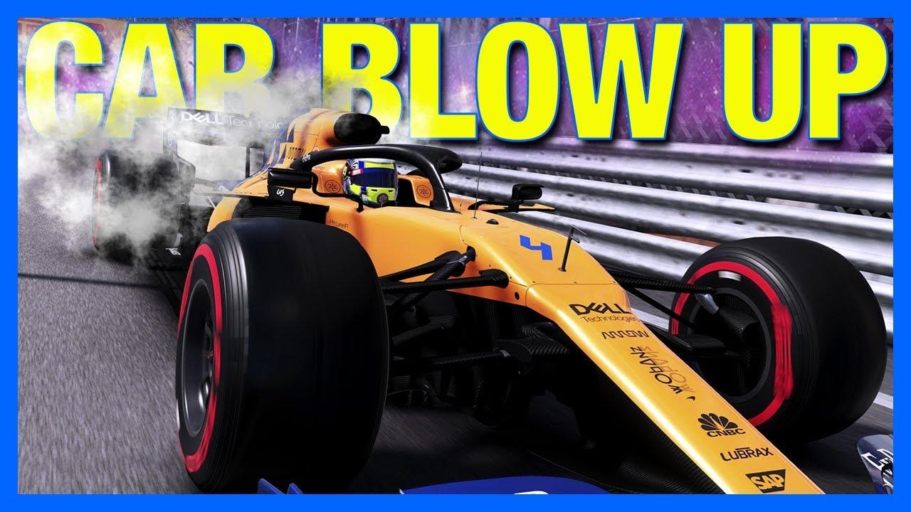 Download F1 2019 Career Mode : CAR BLOWS UP!! (Part 28)