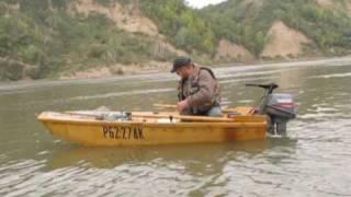 лодка из фанеры / Homemade Jon Boats