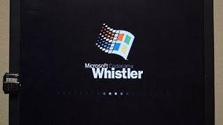 Installing Windows Whistler