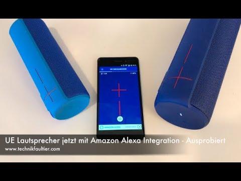 UE Lautsprecher jetzt mit Amazon Alexa Integration - Ausprobiert