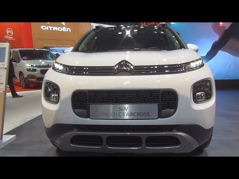 Citroën C3 Aircross PureTech 110 S&S EAT6 Rip Curl (2019) Exterior and Interior